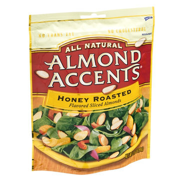 Almond Accents All Natural Honey Roasted Flavored Sliced Almonds