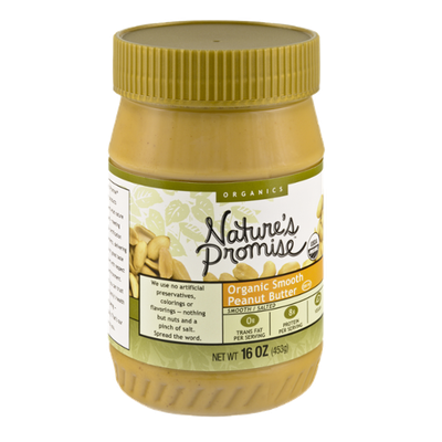 Nature's Promise Organics Smooth Peanut Butter