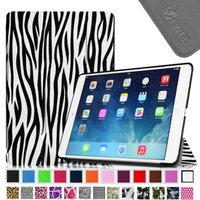 Fintie Smart Shell Leather Case Cover for iPad Mini 2 (2013 Edition) and Mini (2012 Edition), Zebra Black