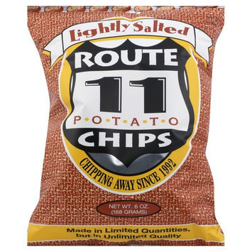 Route 11 Lightly Salted Chips, 6 Ounce