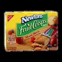 Nabisco Newtons Mixed Berry Fruit Crisps Snacks - 8 PK