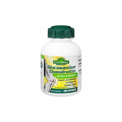 Finest Natural Glucosamine Chondroitin Double Strength 180 Capsules