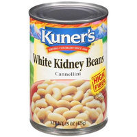 Kuners Kuner's White Kidney Beans, 15 oz