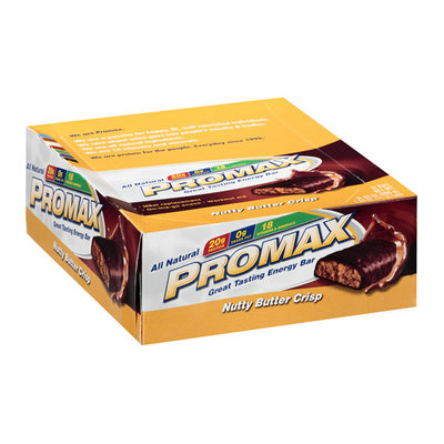 Promax Nutty Butter Crisp Energy Bar