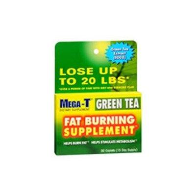 Mega-T Green Tea Fat Burning Dietary Supplement Caplets