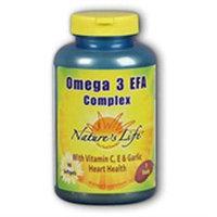 Nature's Life Omega 3 EFA Complex - 90 Softgels
