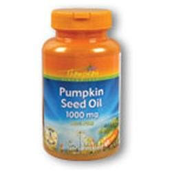 Thompson Pumpkin Seed Oil - 1000 mg - 60 Softgels
