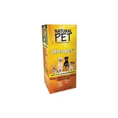 King Bio Homeopathic Natural Pet Pharmaceuticals Allergies - 4 fl oz