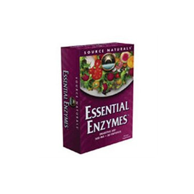 Source Naturals - Essential Enzymes 500 mg. - 30 Capsules