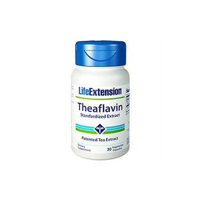 Life Extension Theaflavin Standardized Extract - 30 Vegetarian Capsules