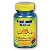 Nature's Life Lipotropic Complex - 180 Tablets