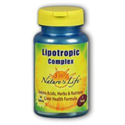Nature's Life Lipotropic Complex - 180 Tablets