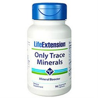 Life Extension Only Trace Minerals - 90 Vegetarian Capsules