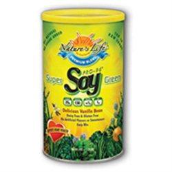Super Green Pro 96 Non-GMO Soy Protein - Vegetarian Nature's Life 1 lbs Powder