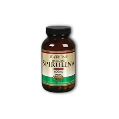 Lifetime Hawaiian Spirulina - 600 mg - 90 Vegetarian Capsules
