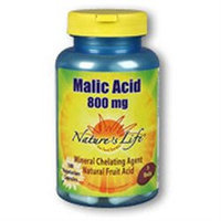 Malic Acid 800mg Nature's Life 250 Caps