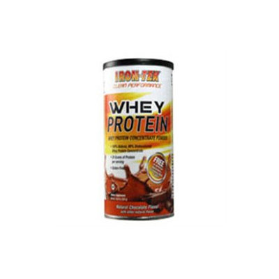 Iron Tek - Whey Protein Concentrate Powder Natural Chocolate Flavor - 14.8 oz.