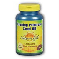Nature's Life Evening Primrose Seed Oil - 1300 mg - 50 Softgels