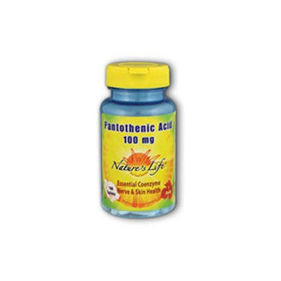 Pantothenic Acid 100mg - Vegetarian Nature's Life 100 Tabs
