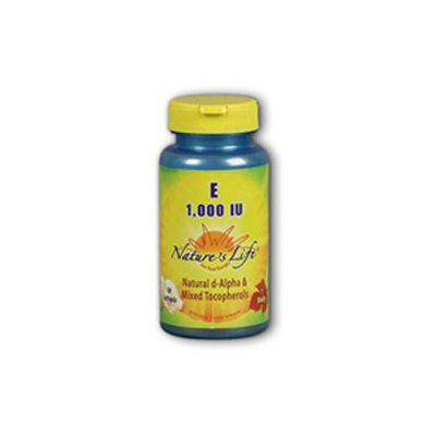 Vitamin E 1000 IU Nature's Life 50 Softgel