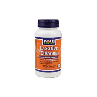 NOW Foods - Laxative Cleanse - 100 Vegetarian Capsules