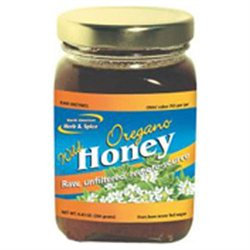 North American Herb & Spice Wild Oregano Honey 9.4 oz
