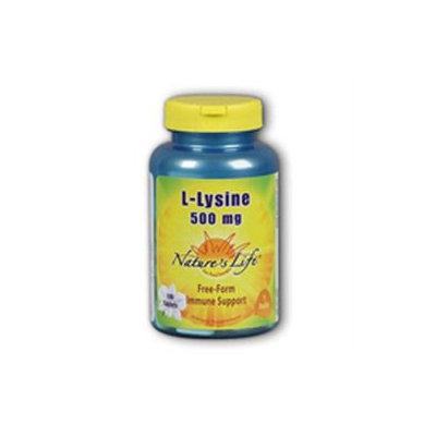 Nature's Life L-Lysine - 500 mg - 100 Capsules