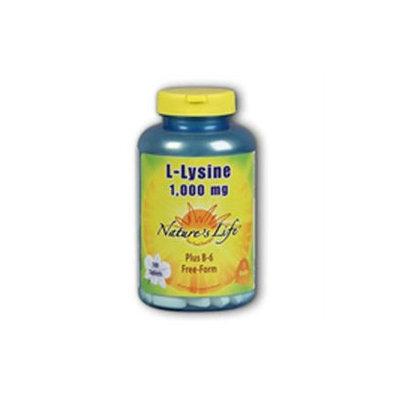 L-Lysine 1000mg - Vegetarian Nature's Life 250 Tabs
