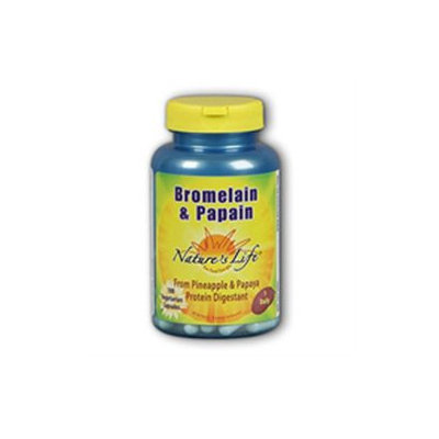 Nature's Life Bromelain and Papain - 250 Vcaps