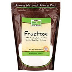 NOW Foods - Fructose Fruit Sugar - 24 oz.