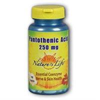 Pantothenic Acid 250mg - Vegetarian Nature's Life 250 Tabs