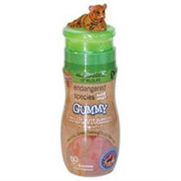 Endangered Species Gummy Multivitamin Plus Immunity C, White Tiger, 80 ea
