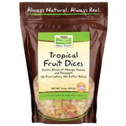 Now Foods, Tropical Fruit Dices 16 oz