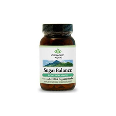 Organic India Sugar Balance - 90 Vegetarian Capsules
