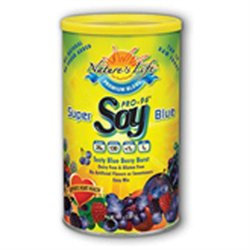 Super Blue Soy Protein Nature's Life 1 lbs Powder