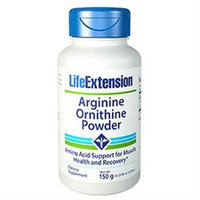 Life Extension Arginine Ornithine Powder - 150 g
