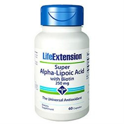 Life Extension Super Alpha-Lipoic Acid w/ Biotin
