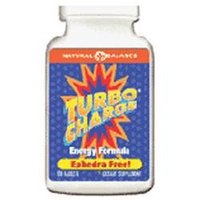Natural Balance Turbo Charge Energy Formula - 60 Tablets