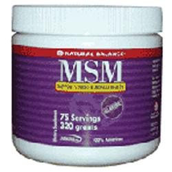MSM Powder, 320 g, Natural Balance