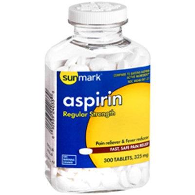 Sunmark Aspirin, 325 mg, 300 tabs by Sunmark