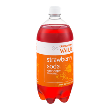 Guaranteed Value Strawberry Soda