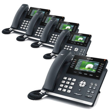 Yealink SIP-T46G (5 Pack) Ultra-Elegant Gigabit IP Phone