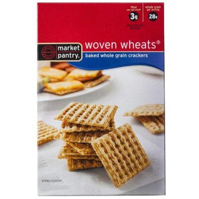 market pantry Market Pantry Woven Wheat Crackers 9.5 oz