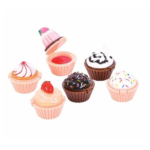 Lil Princess Rhode Island Novelty Cupcake Lip Gloss 12 Piece Girls Birthday Party Favors