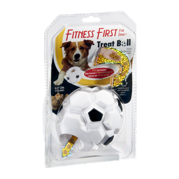 Fitness First For Dogs Treat Ball