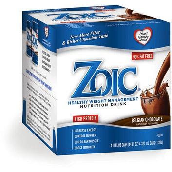 Zoic Nutritional Drink-Belgian Chocalate 24 pack