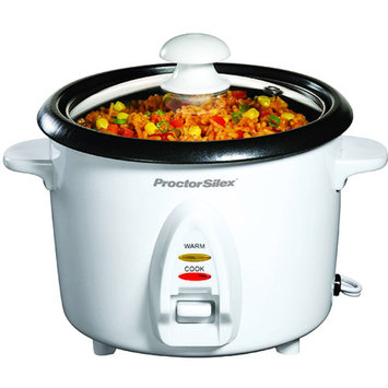 PG Proctor 37534 WHT 8 Cup Rice Cooker