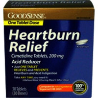 Good Sense Heartburn Relief Cimetidine 200mg Tabs 30ct