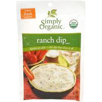 Simply Organic Certified Organic Ranch Dip Mix