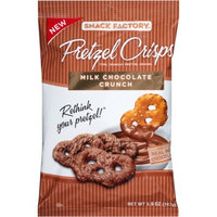 Snack Factory Pretzel Crisps Milk Chocolate Crunch Pretzel Snacks, 5.9 oz
